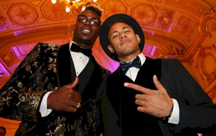 Neymar Minta Pogba Didatangkan Ke Paris Saint- Germain