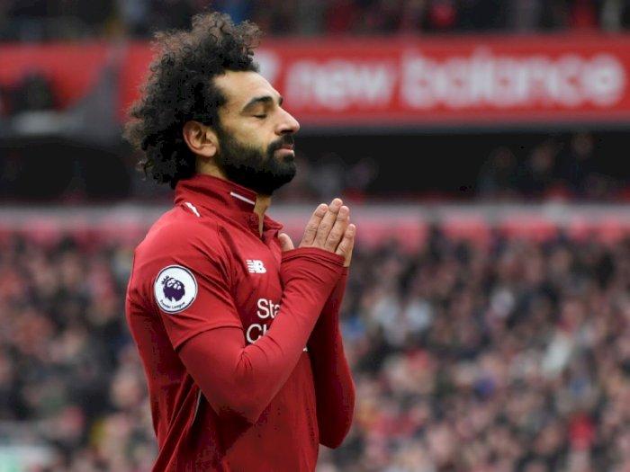 Mohamed Salah Dipastikan Absen Saat Liverpool Kontra Barcelona