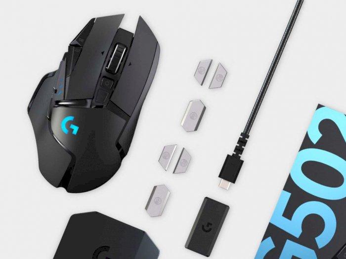 Logitech G502 Lightspeed, Mouse Wireless Dari Logitech Dengan Segudang Fitur