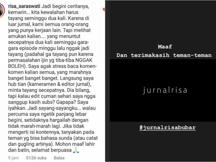 Ngeluh Karena Banyak Tuntutan Dari Netizen Tim Jurnalrisa Mau Bubar Indozone Id