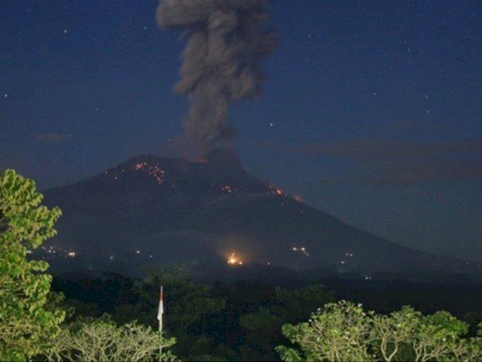 Pasca Erupsi Gunung Agung, Warga Diminta untuk Hindari Zona Bahaya