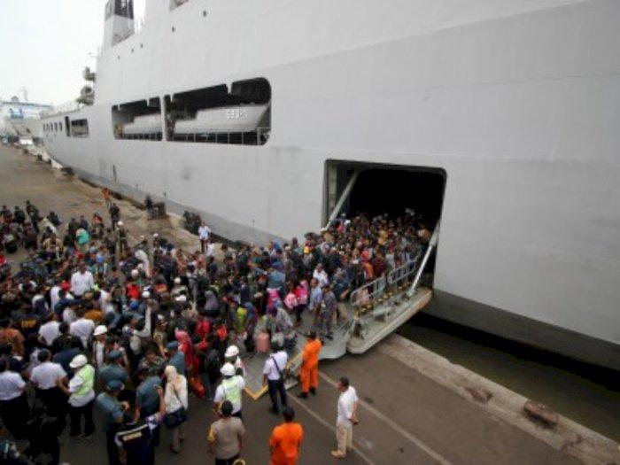 Arus Balik di Pelabuhan Makassar Capai 454 Ribu Jiwa