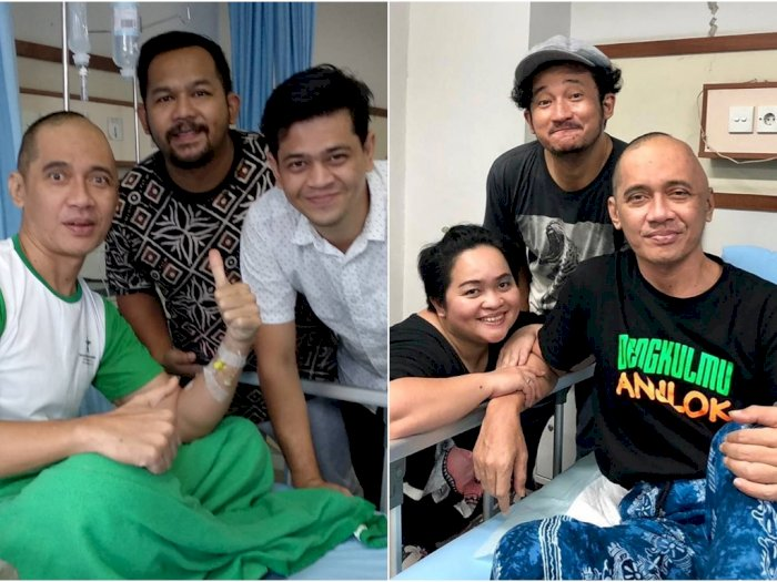 Lama Tak Nongol di TV, Agung Hercules Sakit Kanker Otak   Indozone.id