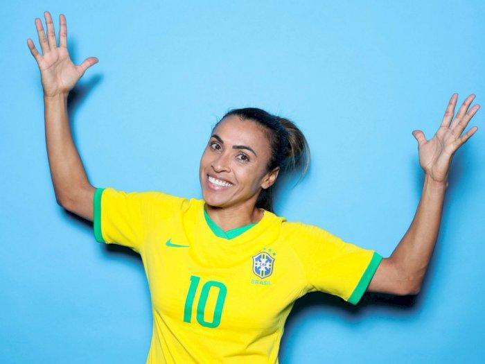 Marta Perjuangkan Kesetaraan Gender Melalui Piala Dunia Wanita 2019