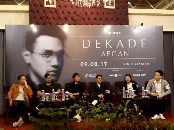Gelar Konser Dekade,  Afgan Pamit Di Belantika Musik Indonesia