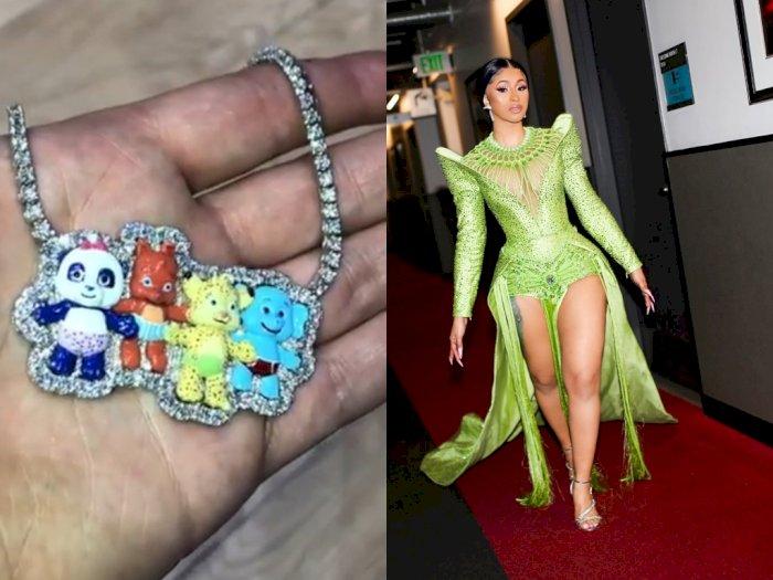 Hadiahi Anaknya Kalung Berlian, Cardi B Rogoh Kocek Rp 1,4 Miliar