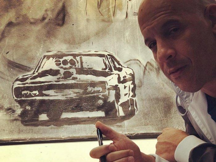 Tayang 2020, Vin Diesel Pamer Set Syuting Perdana Fast & Furious 9