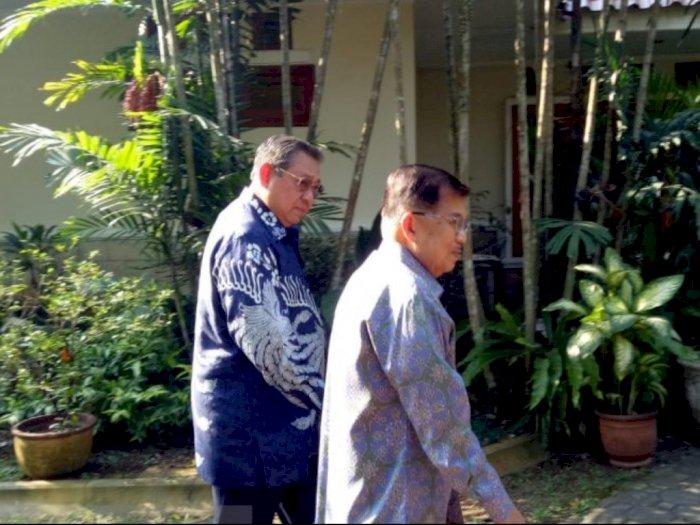 Kunjungi SBY, JK Nostalgia soal 9 Kaleng Kerupuk di Istana