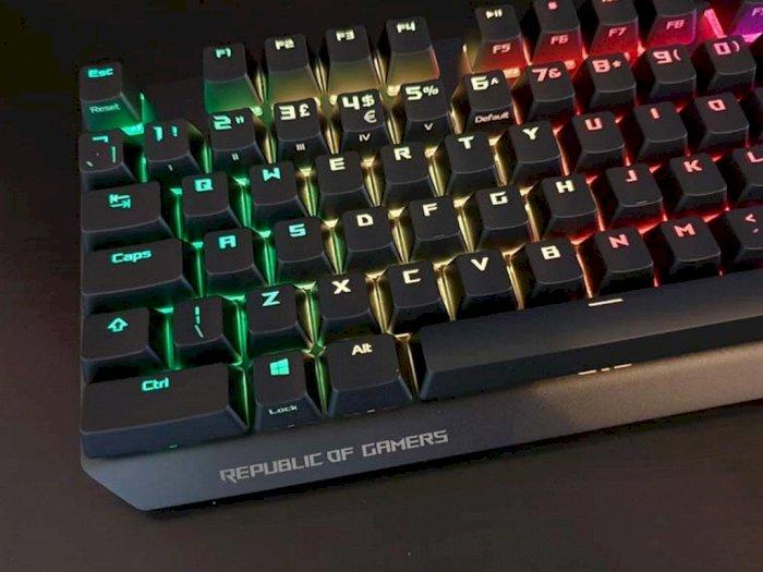 ROG Strix Scope, Keyboard Baru Dari ROG Buat Para Pemain Game FPS