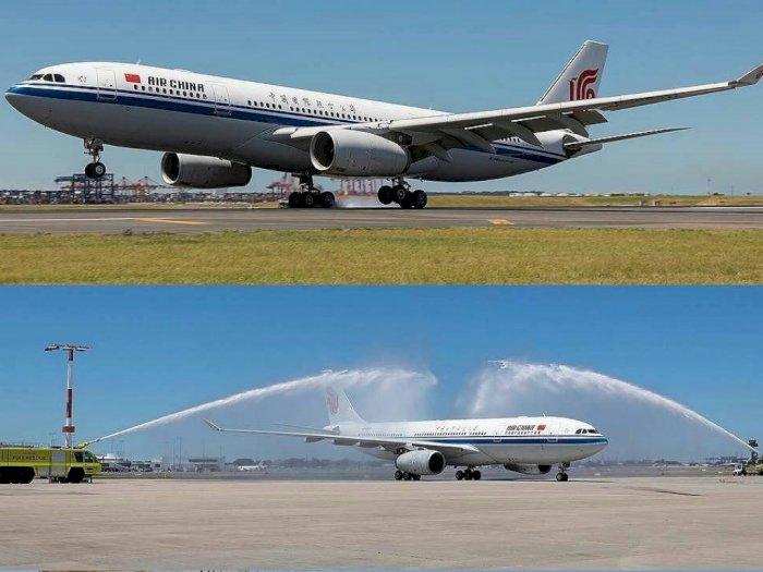 Perang Dagang  AS-Tiongkok, Air China Beli 20 Airbus A350-900