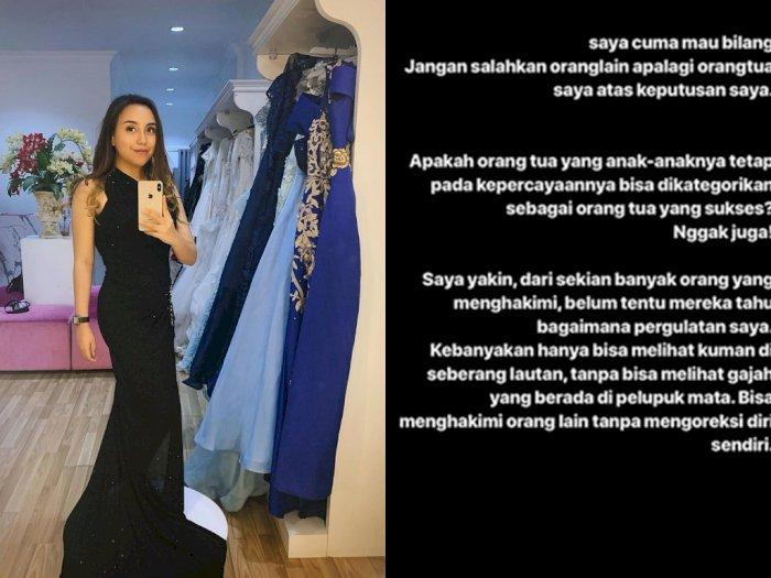 Salmafina Sunan: Jangan salahkan Orang Tua Saya.