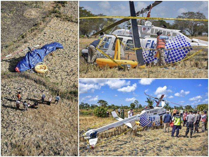 Helikopter Jatuh di Desa Kawo, Cek 3 Hasil Investigasi Sementara KNKT