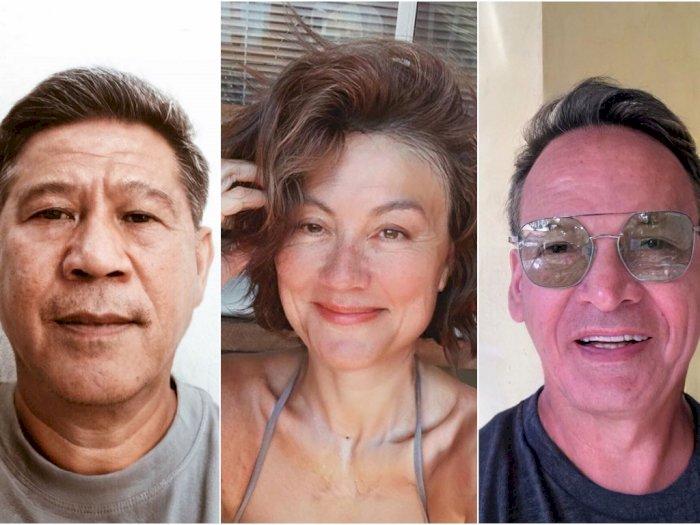 Heboh Age Challenge, Ini 8 Potret Para Artis Kalau Berwajah Tua