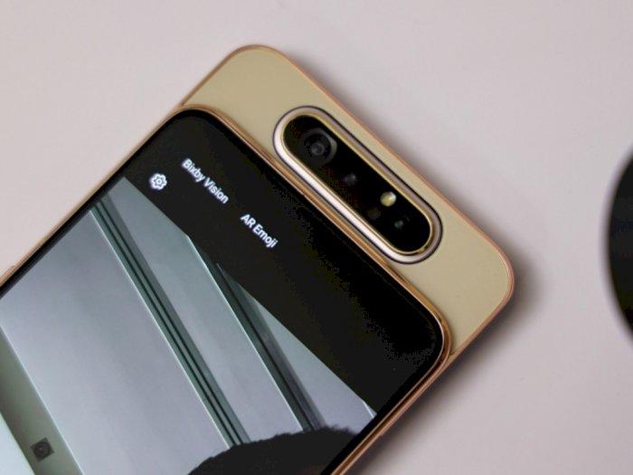 Resmi Dirilis di Indonesia, Ini Harga Smartphone Samsung Galaxy A80