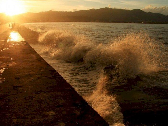 Gelombang Tinggi Capai 4 Meter di Laut Banda Timur