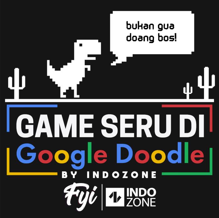 Game Seru di Google Doodle by INDOZONE