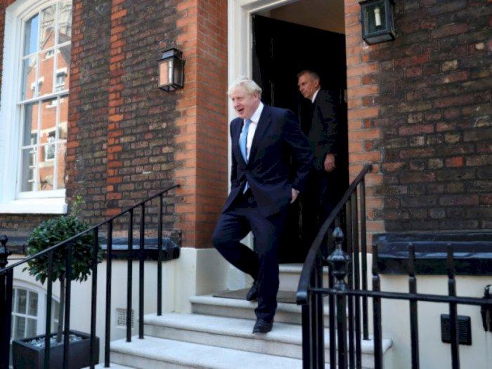 Jokowi Ucapkan Selamat Pada Boris Johnson