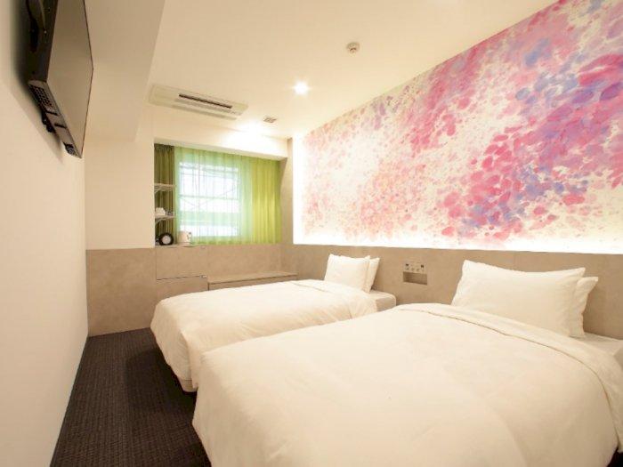 Intip Yuk Hotel Bergaya Galeri Seni di Tokyo Ginza