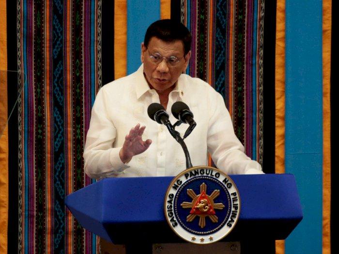 Duterte Sebut Lalat yang Mengganggunya Merupakan 'Suruhan' Pendeta