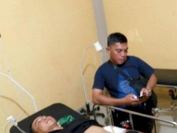 Begini Kronologi 4 Polisi Terluka di Sumatera Selatan