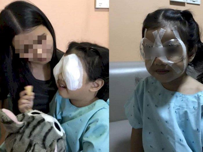 Kecanduan Gadget Membuat Anak 4 Tahun Ini Harus Operasi Mata