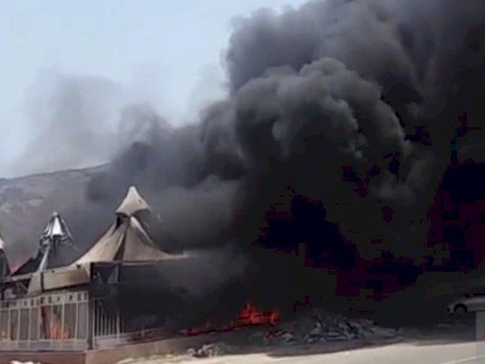 Tenda Jamaah Haji di Mina Terbakar