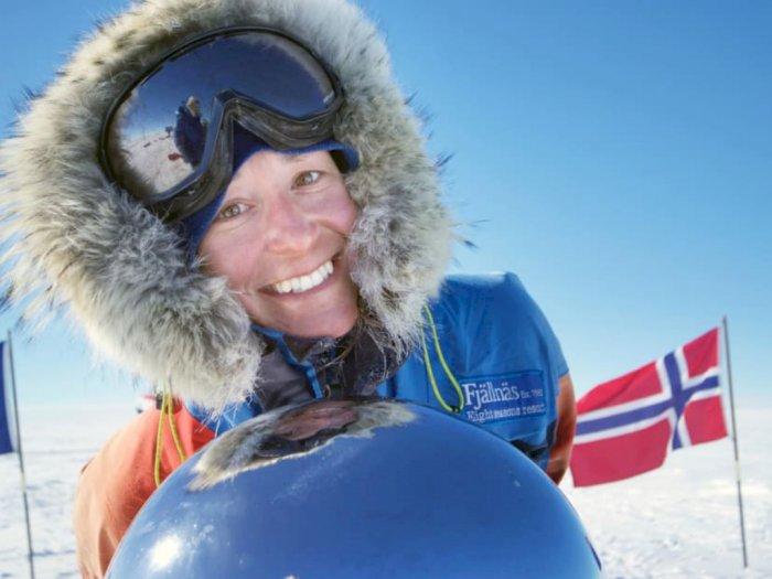 Potret Johanna, Cewek Petualang yang Mengarungi Antartika Sendirian