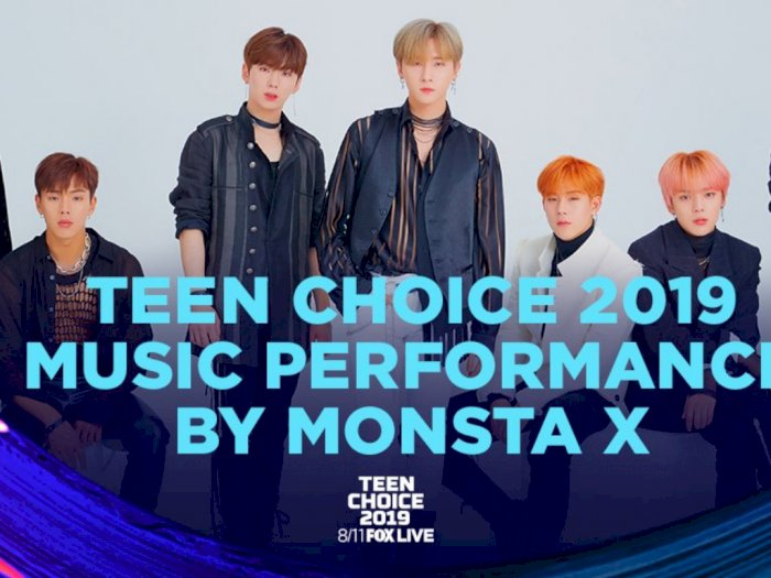 MONSTA X Akan Tampil di The 2019 Teen Choice Awards
