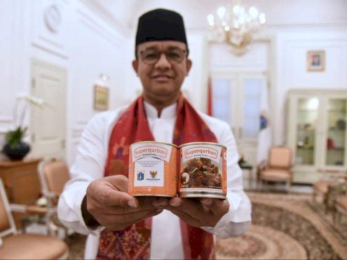 Anies Akan Membagikan Daging Kurban yang Dimasak Chef Hotel Bintang 5