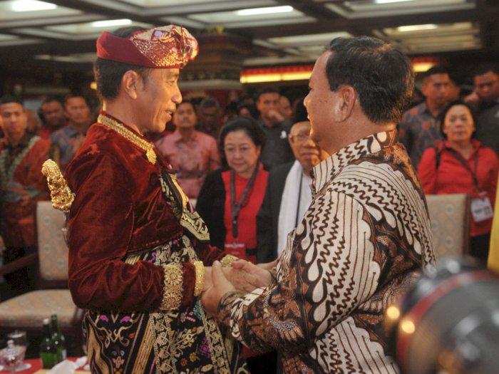 Hadir di Kongres PDIP, Gerindra Belum Putuskan Masuk Koalisi Jokowi