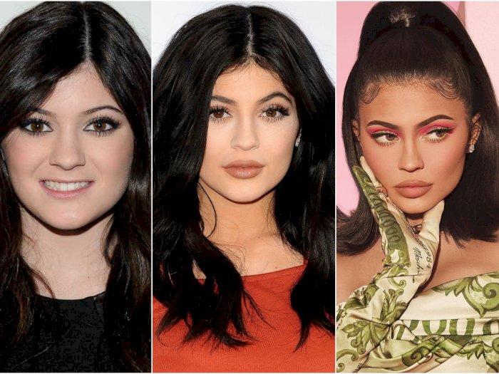 Berkali-kali Oplas, Beginilah Transformasi Wajah Kylie Jenner