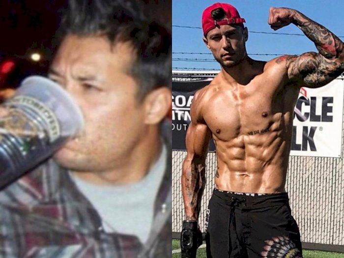 Ubah Pola Hidup, Pria Ini Turun 31 Kg dan Kini Berotot