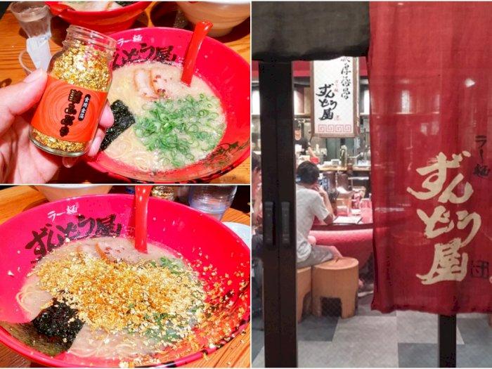 Di Jepang, Ada Ramen dengan Taburan Bubuk Emas Berlimpah