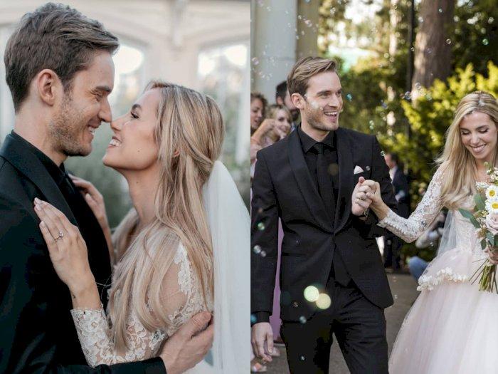 Setelah 8 Tahun Pacaran, PewDiePie dan Marzia Akhirnya Resmi Menikah