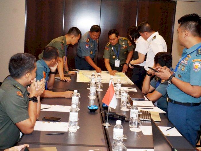 TNI dan SAF Sukses Atasi Aksi Terorisme Di Wilayah Perbatasan Negara.