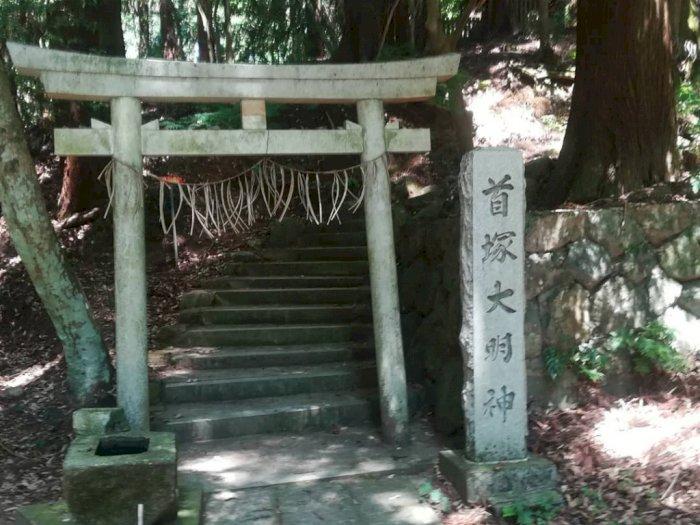 Potret Kubizuka, Kuil di Kyoto Jepang yang Dikenal Menyeramkan