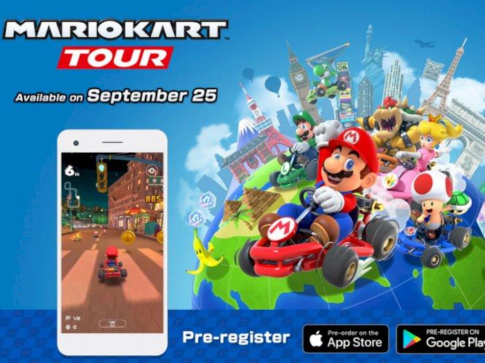 Mario Kart Tour Akan Hadir 25 September