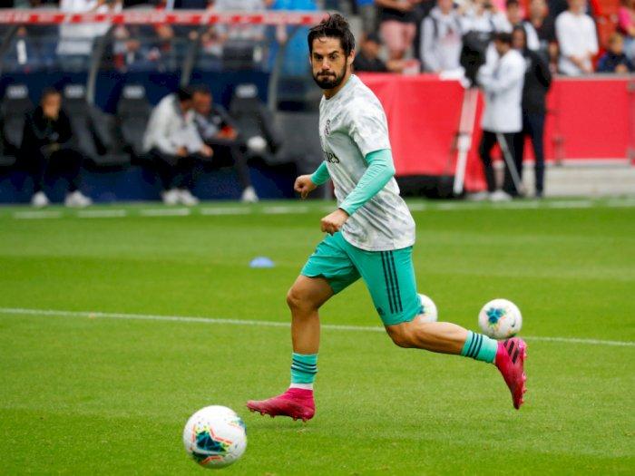 Isco Memperpanjang Daftar Pemain Cedera Real Madrid
