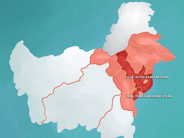 Pemindahan Ibu Kota Picu Lonjakan Penduduk di Kalimantan Timur