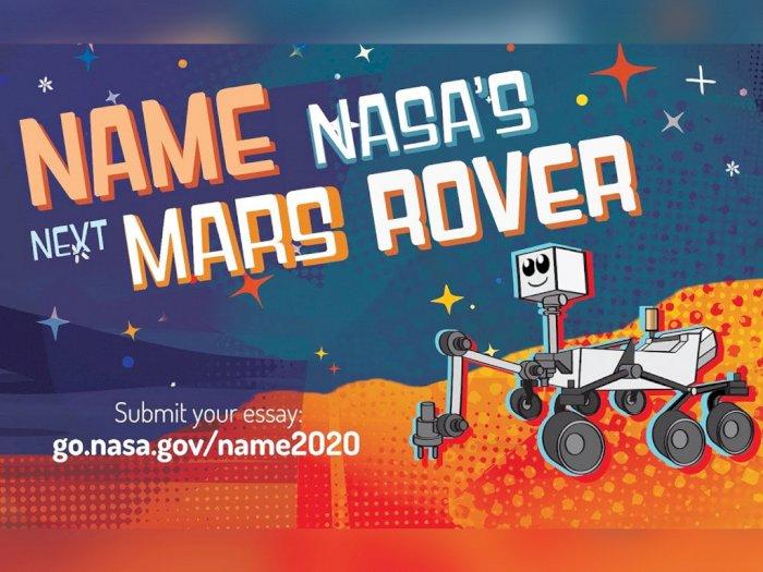 NASA Diketahui Sedang Mencari Nama Untuk Robot Penjelajah Mars Barunya