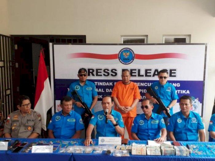 Harta Milik Tersangka Narkoba MA Disita Untuk Negara