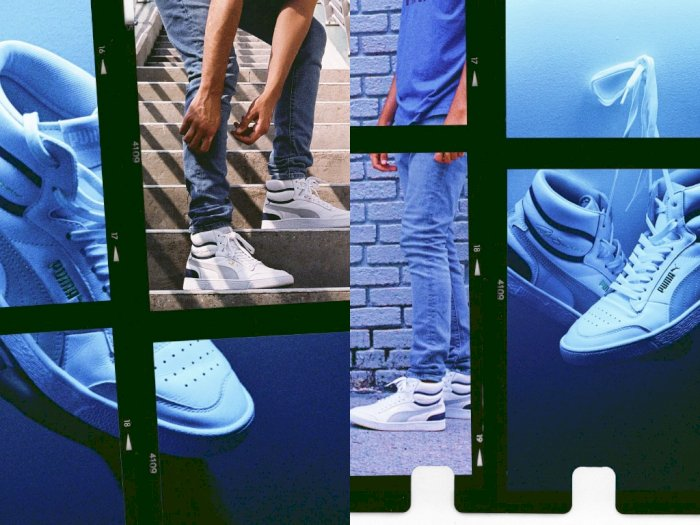 Puma Luncurkan Koleksi Terbaru Sepatu Ala Pebasket  80-an
