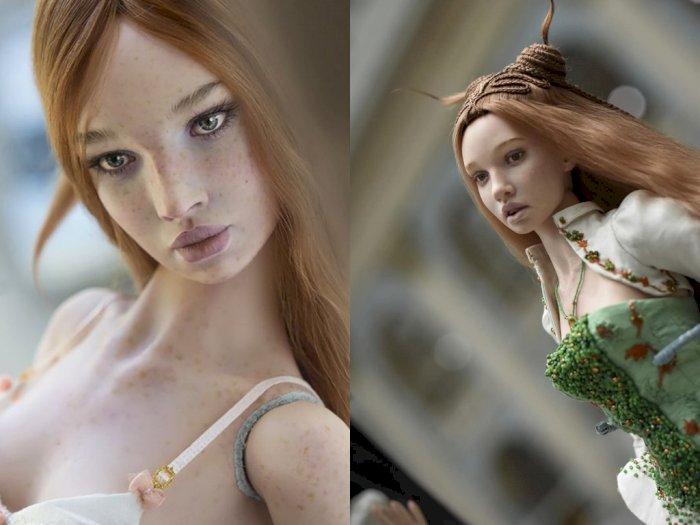 Seniman Rusia Bikin Boneka yang Bentuknya Sangat Mirip dengan Manusia