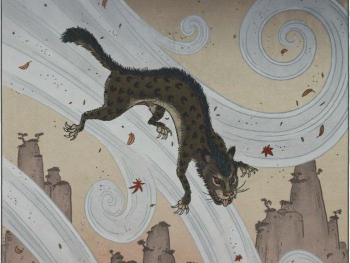 Furi, Si Yokai Yang Mirip Kucing Dan Bisa Terbang