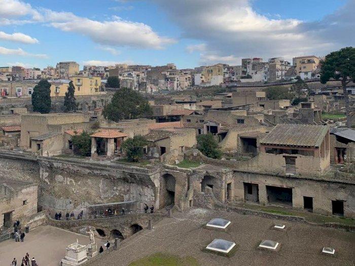 Mengenal Pompeii, Kota yang Hancur Karena Letusan Gunung Berapi
