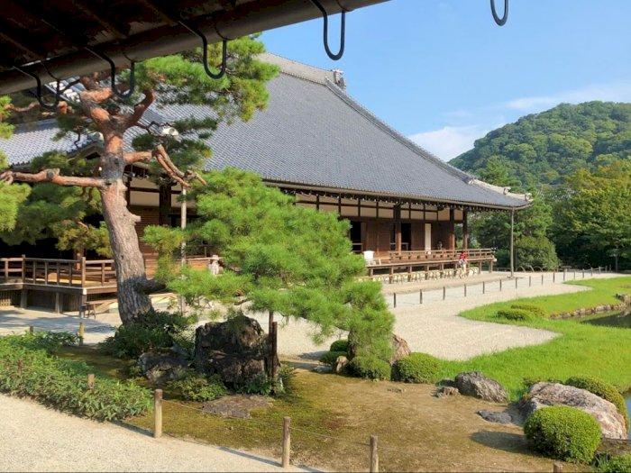 FOTO: Situs Warisan Dunia Kuil Tenryuji di Kyoto