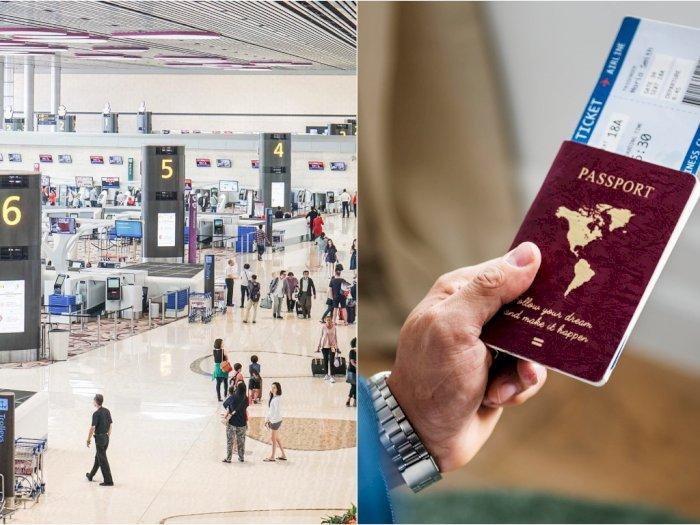 Sengaja Beli Tiket Demi Temani Istri Sampai Boarding, Pria Ini Ditahan