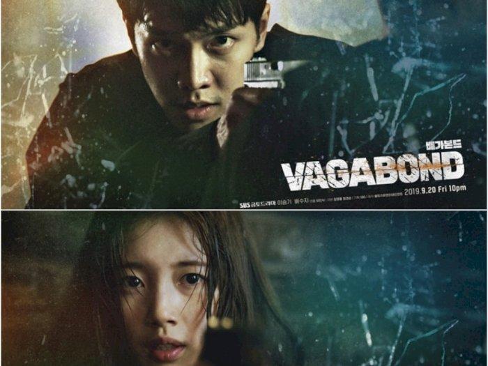 """SBS Merilis Poster """"Vagabond"""" Lee Seung Gi dan Suzy"""