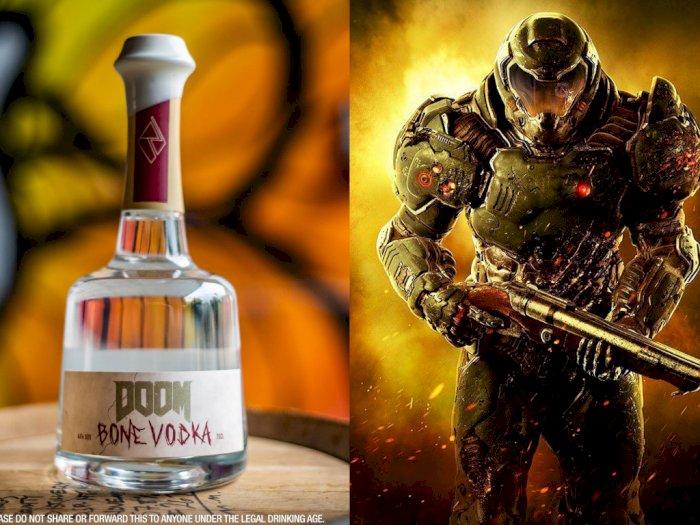 Bethesda Rilis Vodka Sumsum Tulang Yang Bernama DOOM Bone Vodka