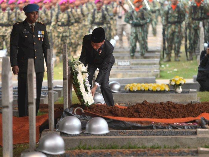 BJ Habibie Jadi Presiden RI Pertama yang Dimakamkan  di TMP Kalibata